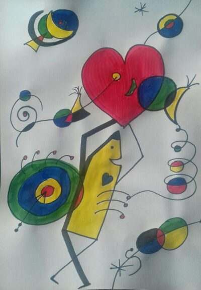 dessin USEP Sylvie
